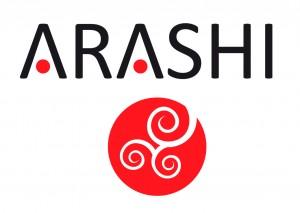 Arashi Logo schwarz Facebook 300x213 Unser Logo