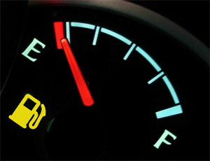 empty gauge Andon? (the simple way)